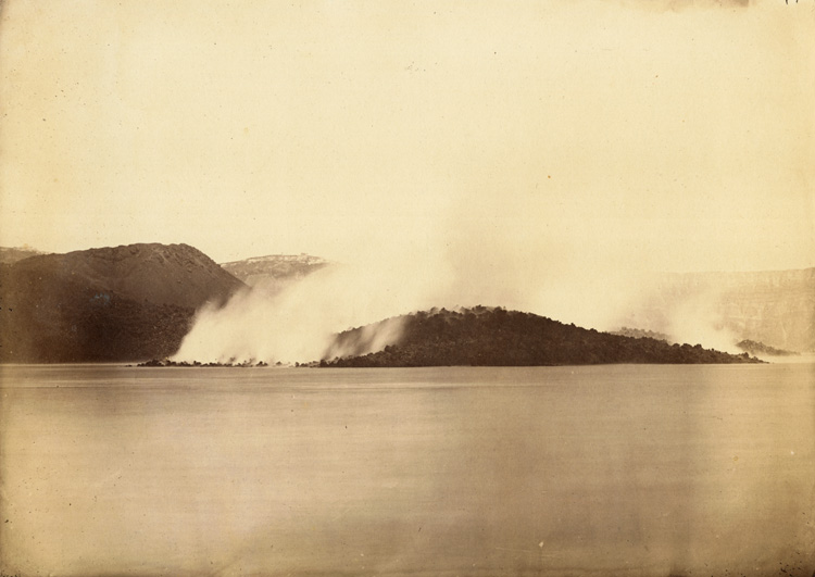 Anonymous-_View-of-the_Santorini-Volcano-1866
